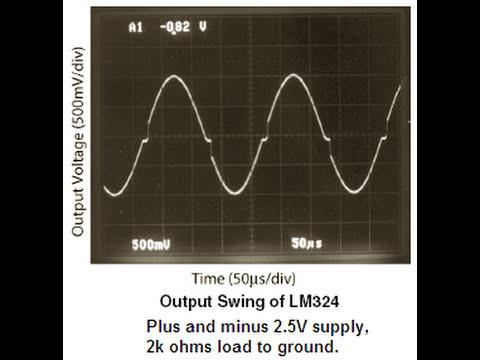 LM324 Sine-Wave oscillator