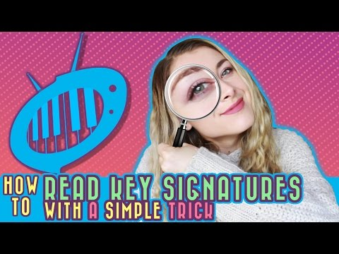 How to Read Key Signatures: The Simplest Trick in the World