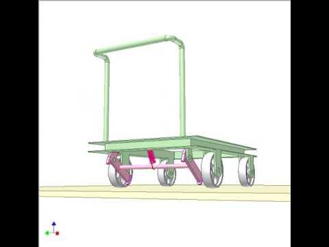 Parking brake for trolley