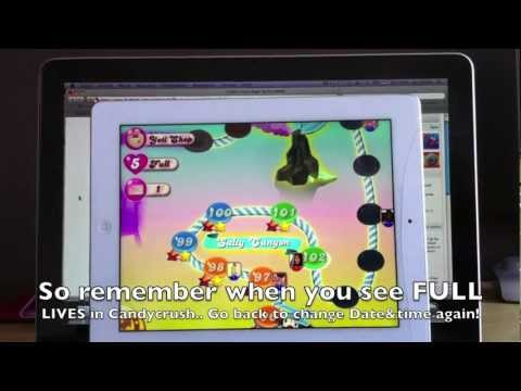 Candy Crush Saga - Free lives Cheat UPDATED- How to get Free / unlimited lives very easy