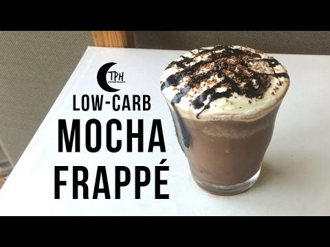 Keto Mocha Frappé Blended Coffee Drink | Low-Carb Mocha Frappuccino DIY Recipe