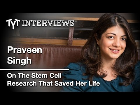 Stem Cell Research: At TYT It's Personal (Cenk Uygur Interview w/ Praveen Singh and Jayde Lovell)