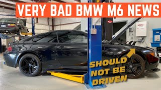 FIXING My CHEAP BMW M6 V10 Is Going To Cost THOUSANDS *GOLDEN OIL*