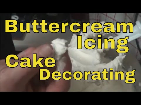 Chox Decorates Cakes 14: How to Make Buttercream Icing! Buttery Decorator Frosting