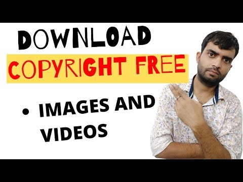 Best website to download Copyright free Images and Videos .Tutorial hindi