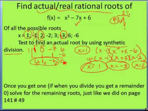 2 5 Zeros of Polynomial Functions