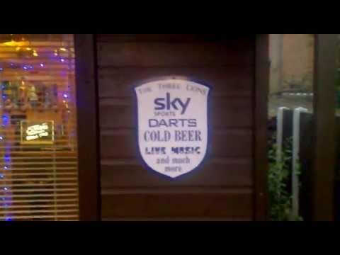 The Three Lions Sports Bar Pub-Shed!