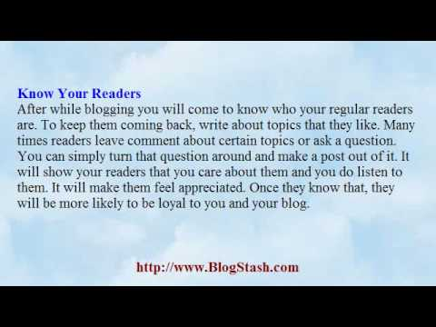 3 Effective Ways To Keep Visitors Coming To Your Blog