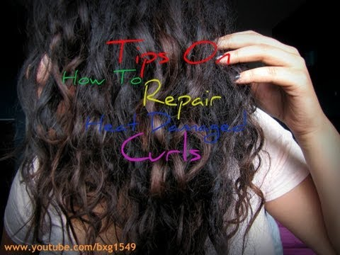 Tips On How To Repair Heat Damaged Curly Hair
