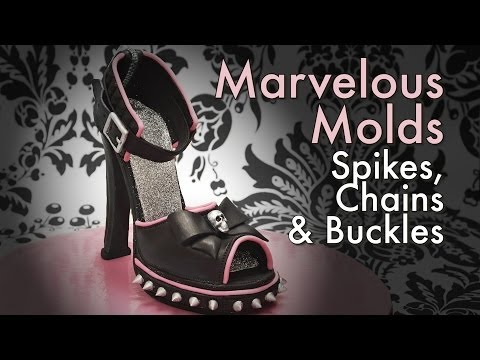 Using Spikes, Chains and Buckles with Marvelous Molds (how-to)