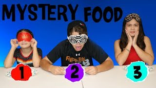 MYSTERY FOOD CHALLENGE | SISTER FOREVER
