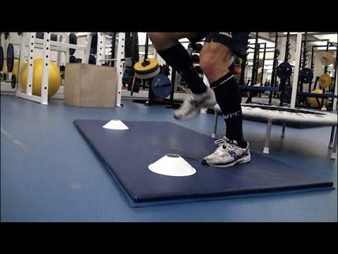Injury clinic | How to rehab a twisted ankle | Gym exercises