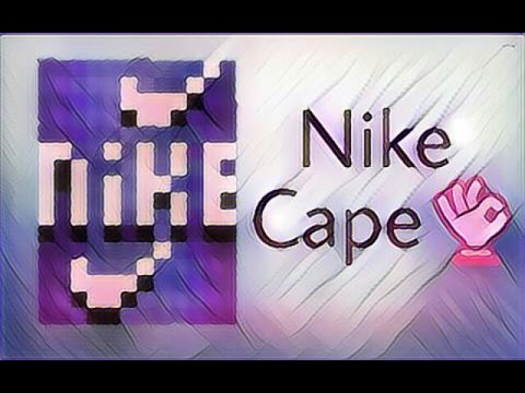 Pixel Gun 3D: Nike Cape [Tutorial]