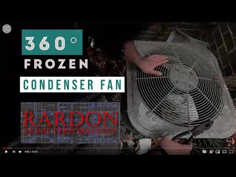 12-9-17 Crappy Frozen Condenser Fan Video
