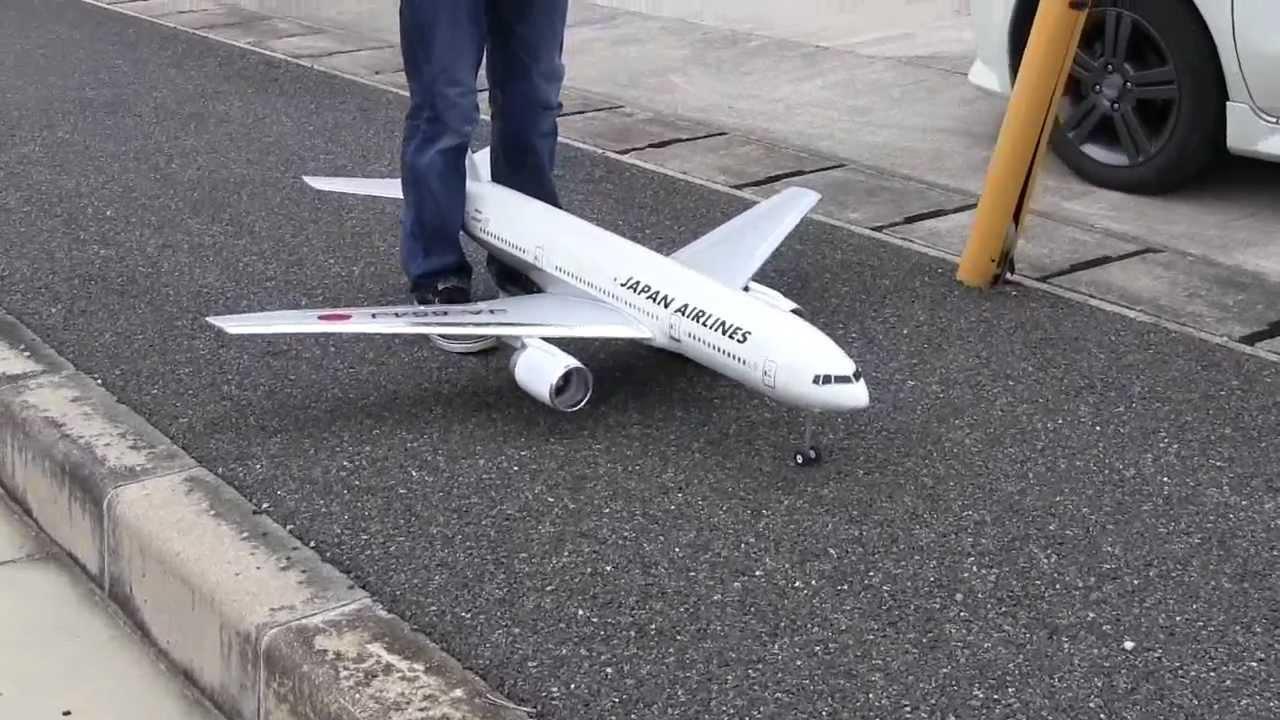 20120513 RC 飛行機 Boeing 777  JAL EDF JET Airliner Air Craft