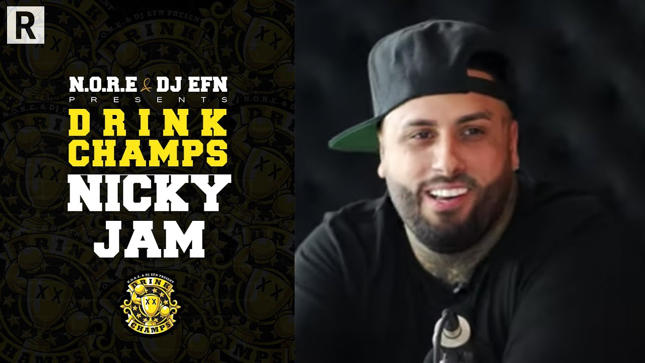 Nicky Jam On Daddy Yankee, Reggaeton, 'Bad Boys For Life,' Past Drugs Abuse And More   Drink Champs