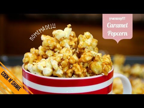 How to make Yummy Caramel Popcorn