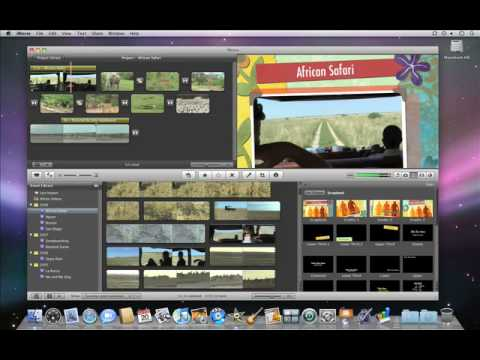 iMovie '09 - Adding Theme Titles and Transitions