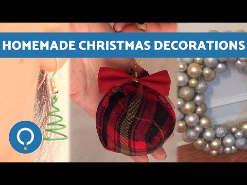 DIY Best Homemade Christmas Decorations