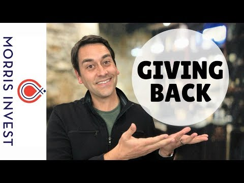 How to Give Back Using Passive Income