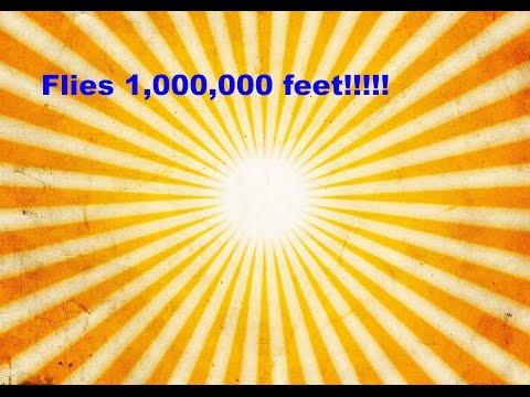 How to make a plane that flies 1,000,000 feet!?