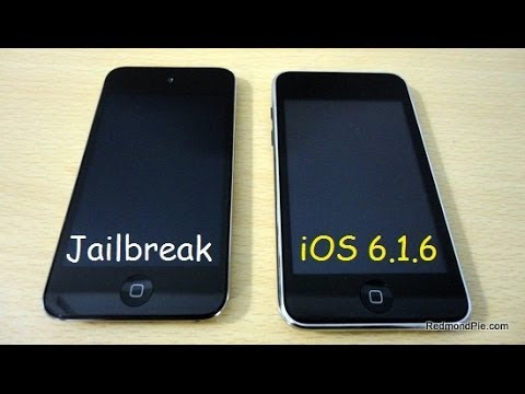 Jailbreak Untethered iOS 6.1.6 Español iPod Touch 4G - iPhone 3GS
