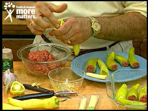Stuffed Banana Peppers - The Produce Corner with Bob Corey