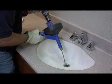 How To Unclog a Drain Using a Cobra Drum Auger