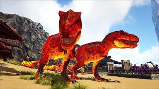 "ARK: Ragnarok Mod #22 - Chúa Tể Địa Ngục ""Demonic Megatherium"" Đại Chiến ""Celestial Indominus Rex"""
