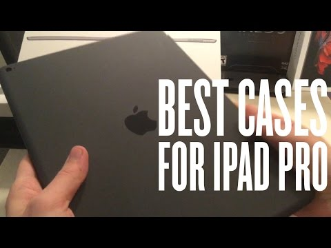 Best Cases for iPad Pro!! - Review (Silicone Case & Smart Cover)