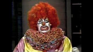 Flunky the Clown Collection on Late Night, 1985-89