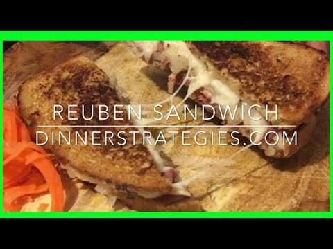 Reuben Sandwich on Rye | Homemade Russian Dressing |