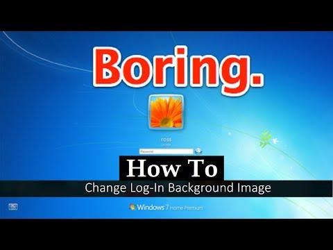 Change Default WallPaper of Logon Screen in Windows