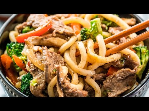 Beef Broccoli Noodle Stir Fry