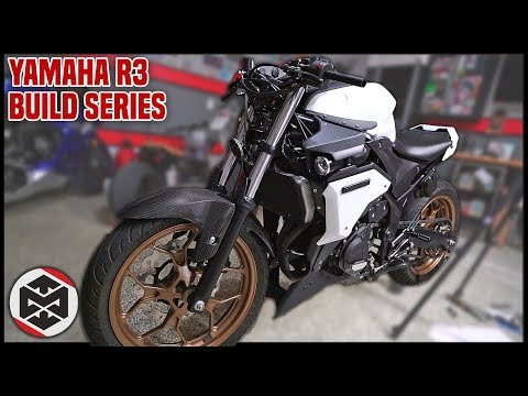 Yamaha R3 Streetfighter Conversion!