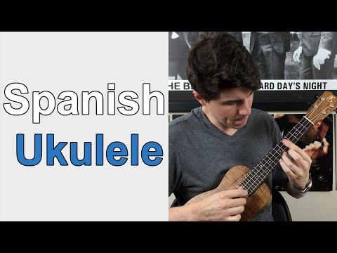 Spanish Ukulele Lesson (Spanish Guitar - Gary Moore)