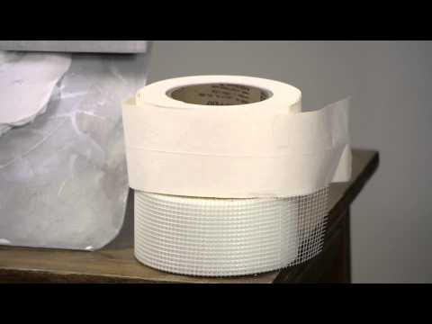 Drywall Stress Crack Tape : Drywall Work