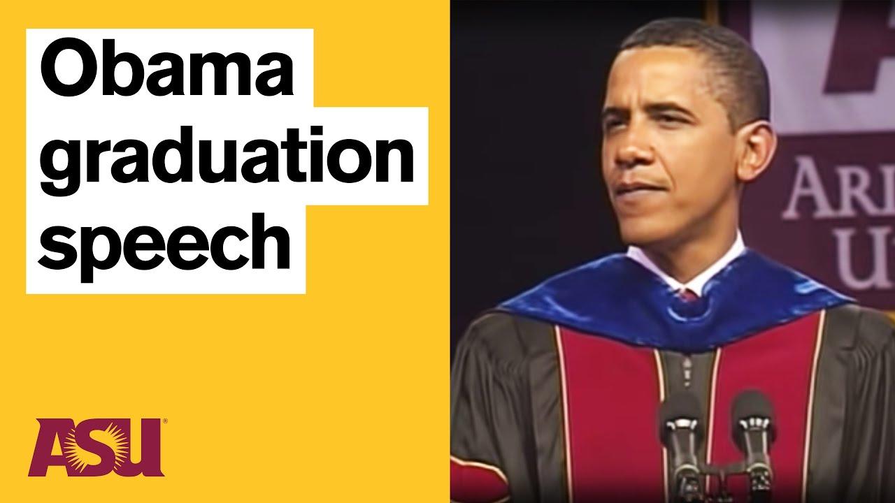 Barack Obama graduation speech: Arizona State University (ASU)