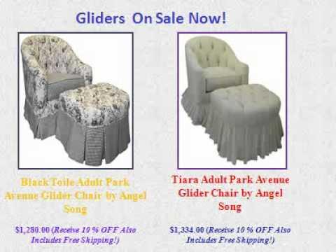 Nursery Glider - Best Selection Of Custom Nursery Gliders