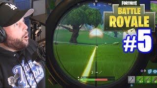 FIRST CROSSBOW KILL & SOLO TOP 5! | Fortnite (PS4) | Battle Royale #5