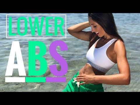 4 Awesome Exercises to Tone Your Lower Abs | Lower Abs Workout