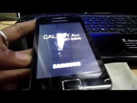 How to install ClockWorkMod Recovery on Smasung Galaxy Ace GT S5830