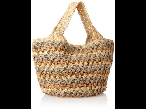 Flora Bella Women's Miraflores Crochet Tote