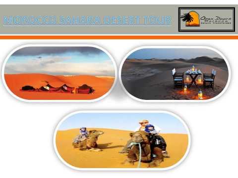 MOROCCO LUXURY TOURS- opendoorsmorocco com