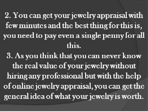 Measure your jewelry with online jewelry appraisal
