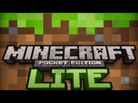 Minecraft-Pocket Edition Lite - iPhone & iPad Gameplay Video