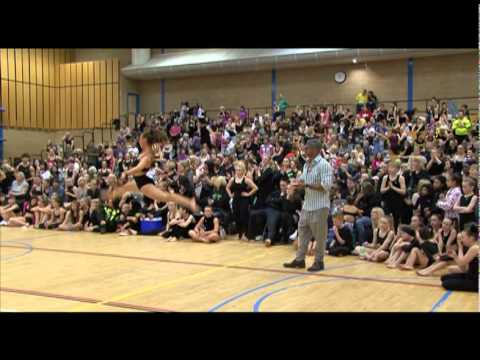 Freestyle disco dancing competition