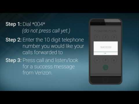 How To Set Up Call Forwarding - Verizon