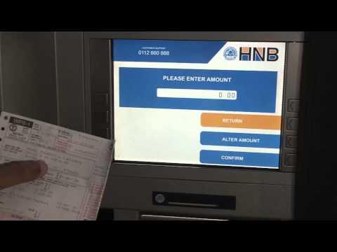 Electricity Bill Payment via HNB Card