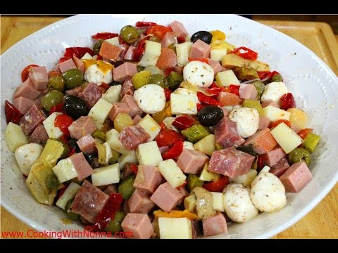 Italian Antipasto -  Rossella's Cooking with Nonna